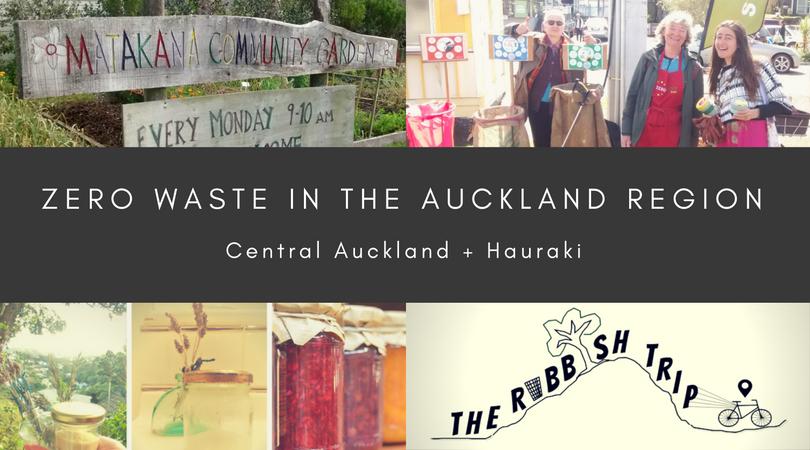 Zero Waste in Central Auckland and Hauraki