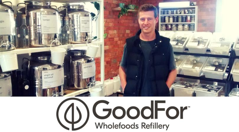 Podcast 9: James Denton: GoodFor Wholefoods Refillery