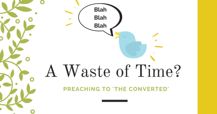 Launching 'A Waste of Time?: Preaching to the Converted'