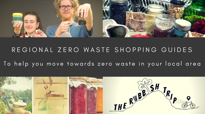 Regional Zero Waste Shopping Guides