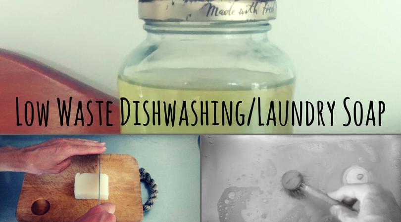 Low Waste Dishwashing and Laundry Soap