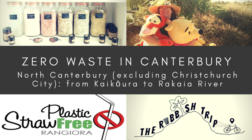 Zero Waste in North Canterbury (excluding Christchurch City)