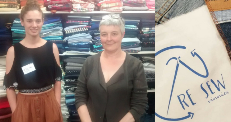 Podcast 14: Caroline & Millie: Vinnies Re Sew
