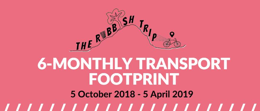 6-Monthly Transport Footprint (5 October 2018-5 April 2019)