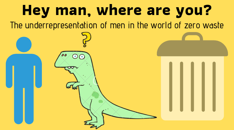 Hey man, where are you? The underrepresentation of men in the world of zero waste