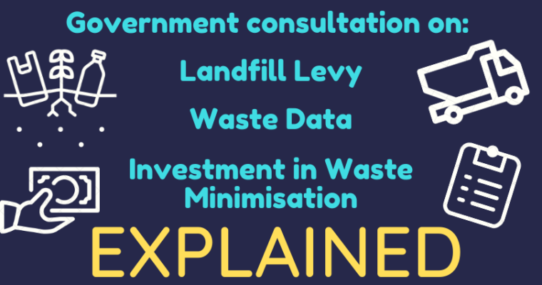 Govt Consultation on Landfill Levy, Waste Data and More: An Explainer from the Zero Waste Community
