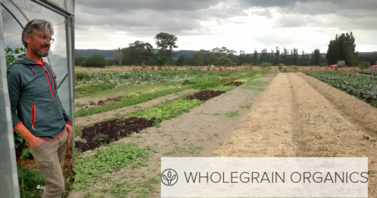 Podcast 26: Robert Hall: Wholegrain Organics