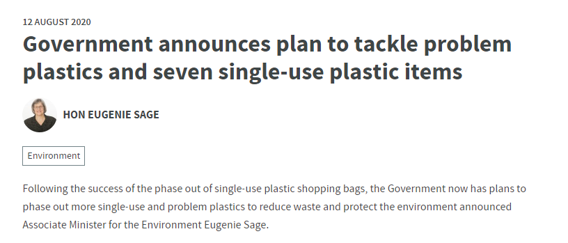 Government proposes bans on wide range of PVC, polystyrene and single-use plastic products