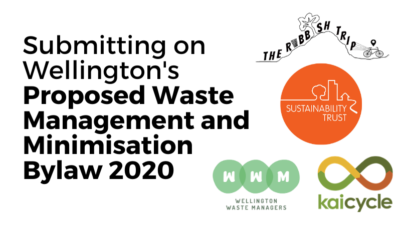 Submitting on Wellington City Council Proposed Solid Waste Management & Minimisation Bylaw 2020